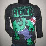 На 2-3,5 года Стильный реглан Hulk мальчику