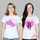 Качественные футболки для девочек