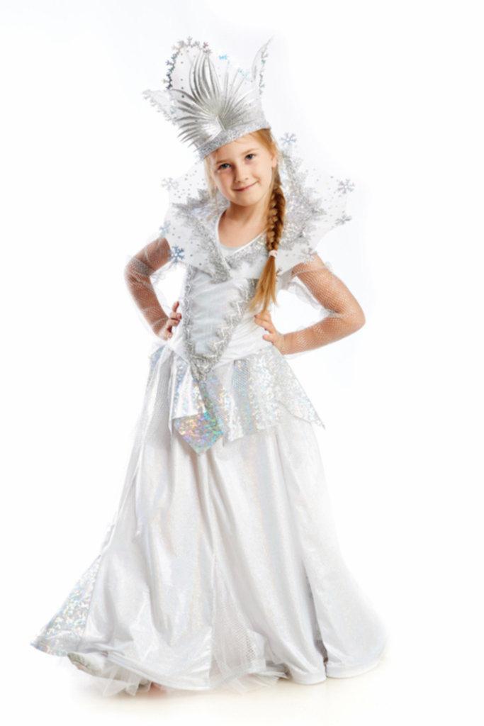 Новогодние костюмы снежной королевы своими руками фото