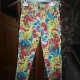 Легкие летние брюки (джинсы)  на возраст от 3 до 12 лет