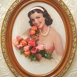 Портрет счастливой женщины