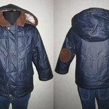 На 1,5-3 года Деми куртка с налокотниками F&F мальчику