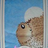 Детское демисезонное одеяло - плед для новорожденных