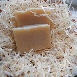 Натуральное мыло-скраб с кокосовой стружкой и ванильно-кокосовым ароматом