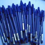 Ручки шариковые кулькові сині, чорні, фіолетові, червоні, зелені канцтовары канцтовари канцелярские