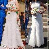 Изящное Свадебное Платье Рыбка, р.44 М