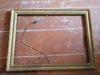 Рамка деревянная старая