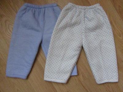Штанишки утепленные для деток 0-1 год