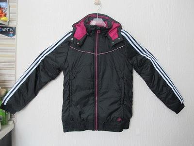 Новая демисезонная утепленная куртка Adidas. Оригинал. на 12-14лет