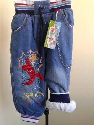 Теплые джинсы на мальчика 1-7 лет .Турция