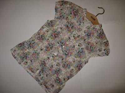 Милая и нежная блуза цветочный принт h&m