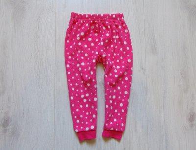 Яркие флисовые штаники для девочки. Early Days. Размер 1.5-2 года. Состояние идеальное