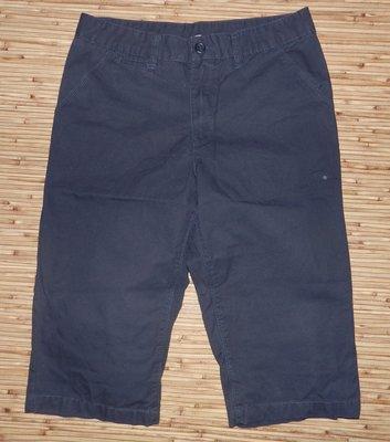 Стоковые синее шорты-бриджи H&M на возраст 14 лет и рост 170 см.
