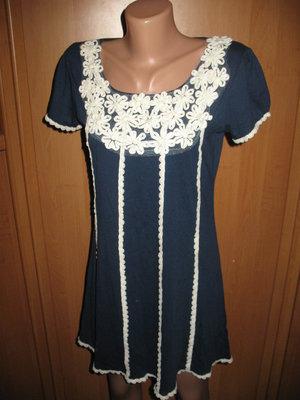 Платье трикотаж р.S.