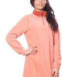 Теплые флисовые платья от С до 2ХЛ, 3 цвета