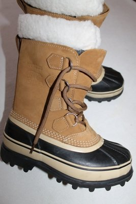 40 р. Зима. Sorel Caribou waterproof Boot. Кожа