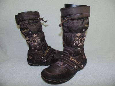 Сапоги Girl Planet 32р,ст 21см.Мега выбор обуви и одежды
