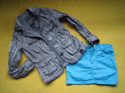 Стильный яркий пиджак ветровка,отличное состояние