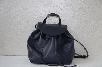 Синий женский рюкзак.