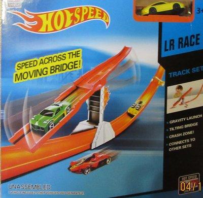 Трек Hot Speed с перекидной дорогой