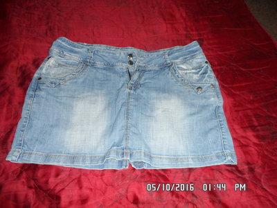 Продам джинсовые юбки р-р 48-52