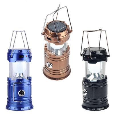 Кемпинговый Фонарь-Лампа solar zoom camping lamp