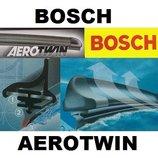 Щетки дворинки для автомобиля безкаркасные Bosch Aerotwin
