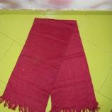 2 шарфа синий и красный новых Jennyfer